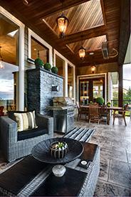 Award-winning outdoor living space