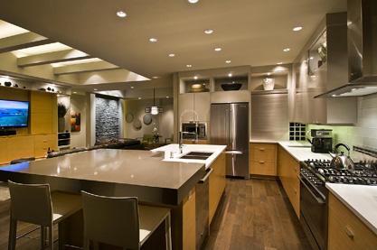 Award-winning kitchen 175-200 sq ft