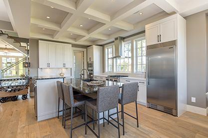Award-winning kitchen over 450 sq ft